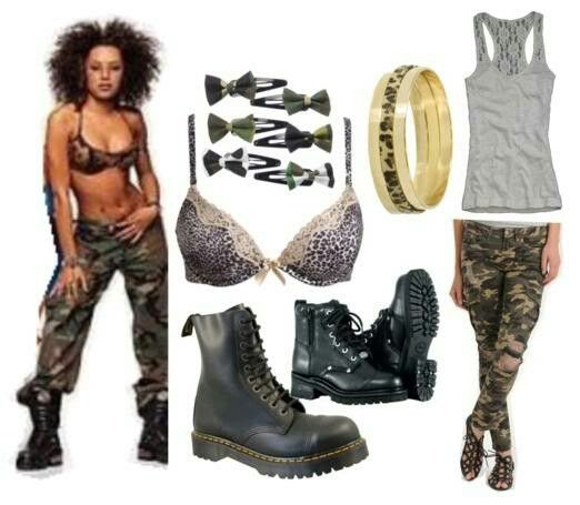 Scary Spice Mel B outfit