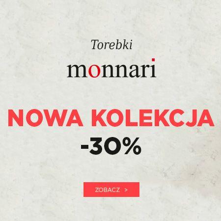 Torebki Monnari 30% taniej!
