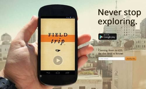 Come see #Detroit with d:hive and Google's new Field Trip App