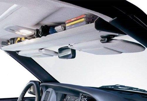 VDP 2008-2010 Ford F250 F350 F450 PU Super Duty Overhead Storage Shelf It Gray SH2275