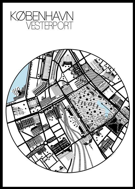Vesterport Poster 50x70