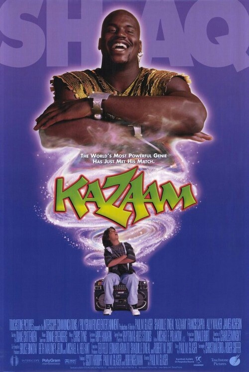 Kazaam Shaq as a genie? | My Childhood Entertainment ...
