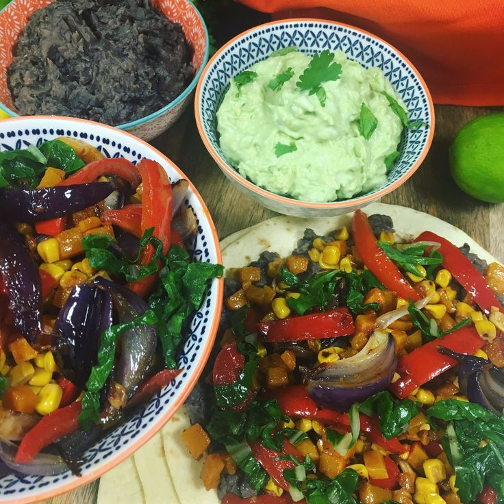 I watched this being made this morning and it looks amazing The Hairy Bikers' veggie tacos
