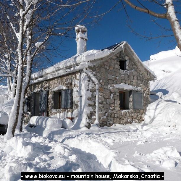 Biokovo mountain makarska croatia