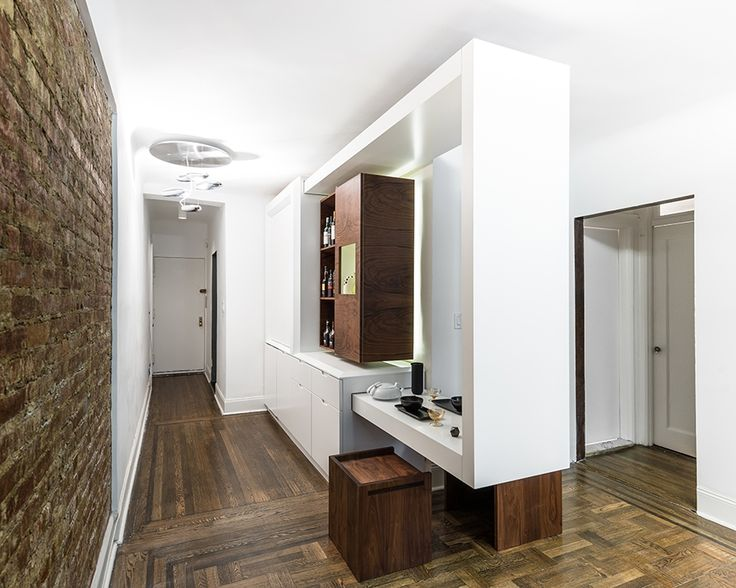 Living In A Shoebox | The Transforming Partywall Goes From Full Bar To  Intimate Micro Dining