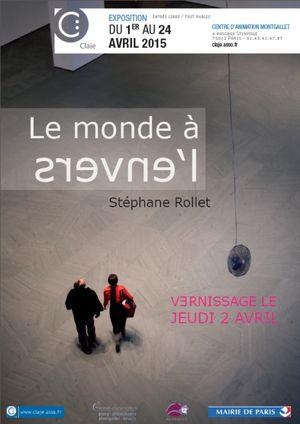 Expos Photos - LE MONDE A L'ENVERS - Exposition de Stéphane Rollet @ Centre d'animation Montgallet - Paris, 75012