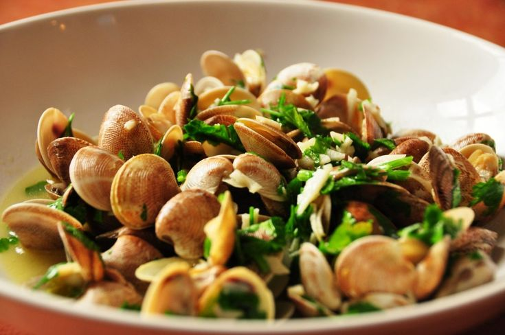 Almejas-con-ajo-recipe