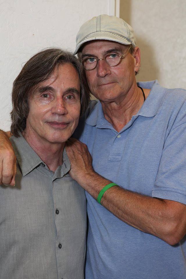 Jackson Browne and James Taylor