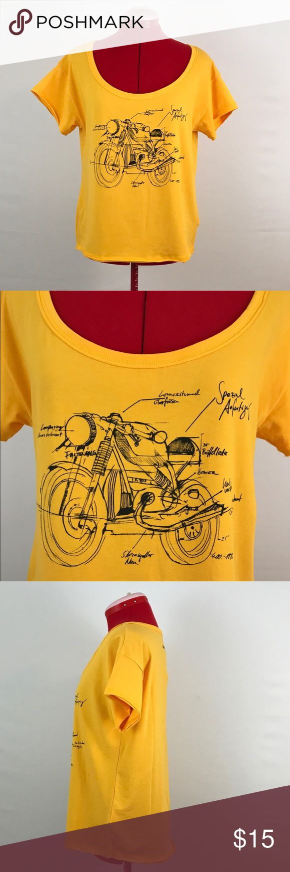BMW Motorrad Short Sleeve top BMW Motorrad Short Sleeve top. This item is very gently pre-owned. BMW Mottorrad Tops Tees - Short Sleeve