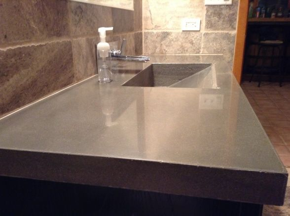 136 Best Images About Do It Yourself Concrete Countertops