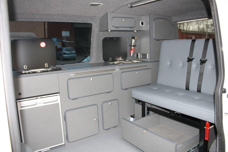 Campervan Conversion Furniture - VW T5, T4, Renault Trafic,Vivaro,Mercedes Vito   eBay