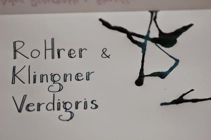 Write to Me Often: Rohrer&Klingner Verdigris Ink Review