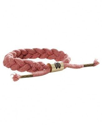 Rastaclat - Ruby Hemp Bracelet - $17