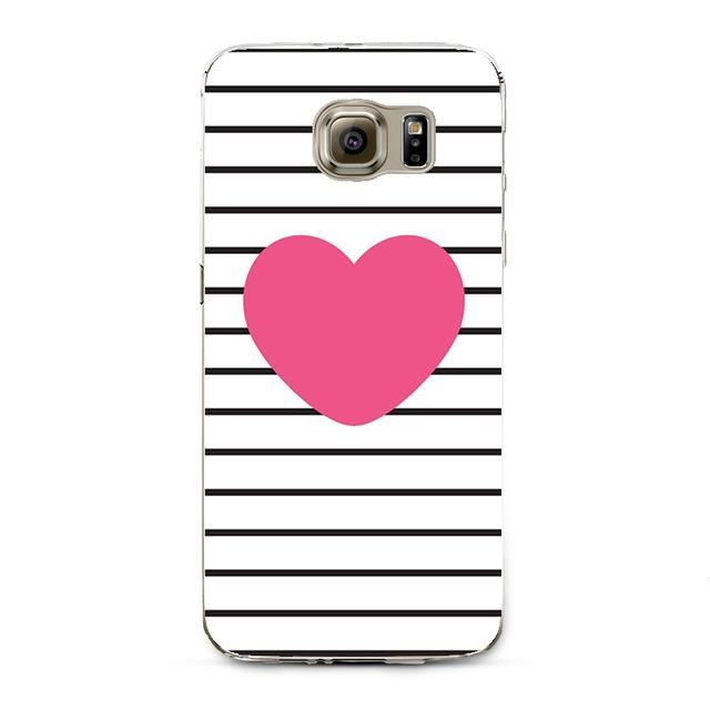 Flamingo Case For Samsung Galaxy S3 S4 S5 S6 S7 Edge S8 Plus A3 A5 2016 2015 2017 J1 J2 J3 J5 J7 Transparent Silicone Fundas