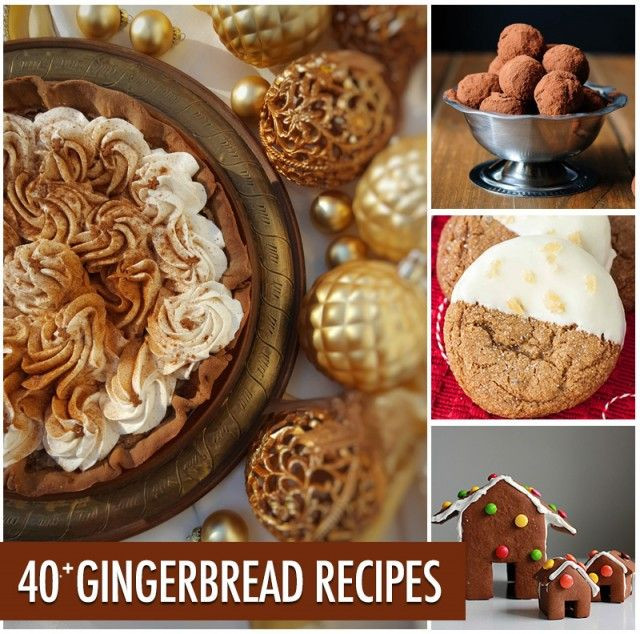 Over 40 Gingerbread Recipes | Food Bloggers of Canada