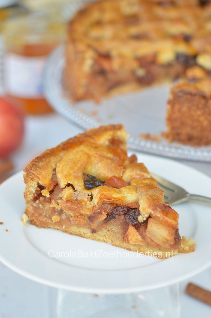 Oma's oud Hollandse appeltaart The best Dutch apple pie, homemade with this recipe!