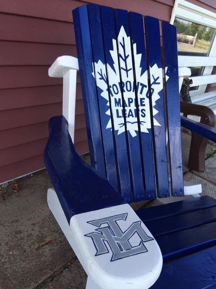 Daren White Nova Scotia Toronto Maple Leaf Chair