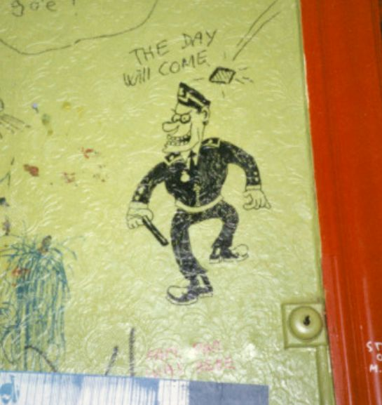 Graffiti fra Jagtvej 69