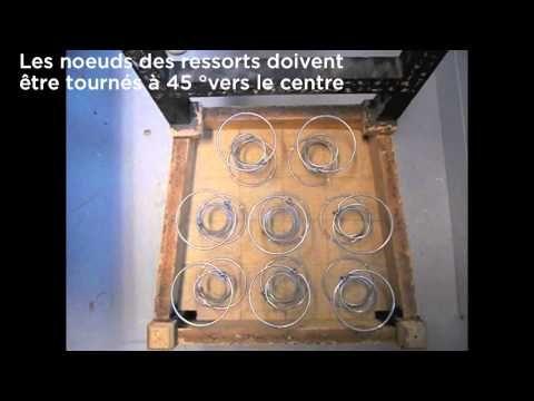 09_2 - Répartir les ressorts - BAC PROFESSIONNEL TAPISSERIE BOULLE LPMA