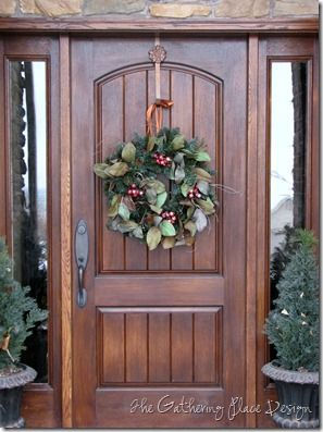 winter wreath: The Doors, Doors Decor, Front Doors, Houses Cool Ideas, Christmas Ideas, Someday Houses Cool, Winter Wreaths, Christmas Houses, Img042222Jpg