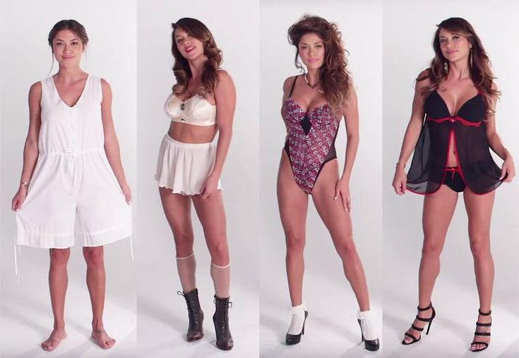 welovewomen: 100 Years of Fashion: Lingerie