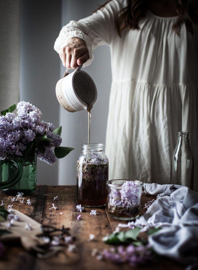 Lilac Syrup Recipe Lilac Syrup Flower Essences