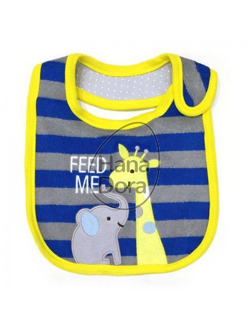 CARTER'S BIB YELLOW FEED ME GIRAFFE http://www.hanadora.com/feeding/carter-s-bib-yellow-feed-me-giraffe.html