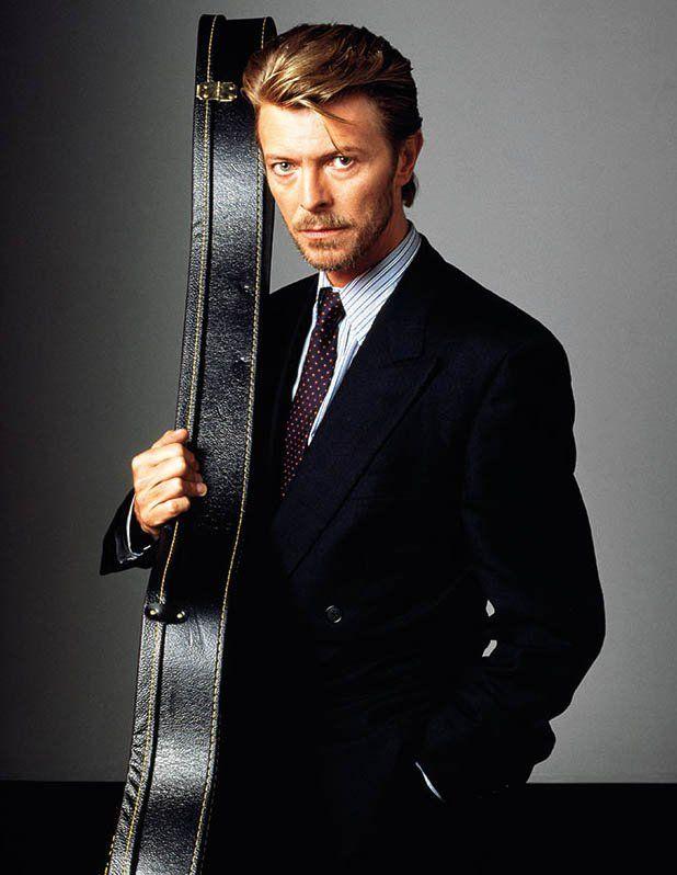 Brian Eno @dark_shark David Bowie, New York, 1989 by Masayoshi Sukita
