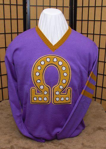 Omega Psi Phi sweater