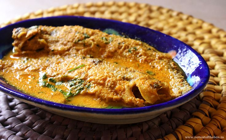 Poshto Pabda/Pabda fish Curry with Poppy seeds - Not Out of the Box
