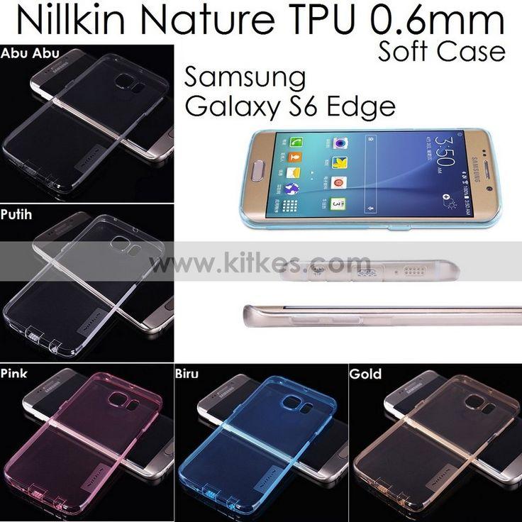 Nillkin Nature TPU 0.6mm Soft Case Samsung Galaxy S6 - Rp 85.000 - kitkes.com
