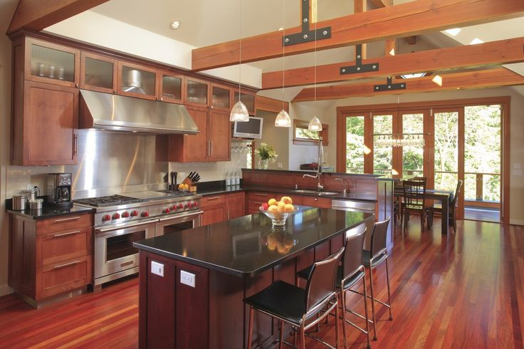 Fabulous Kitchen! Custom Home - Victoria BC by Road's End Contracting