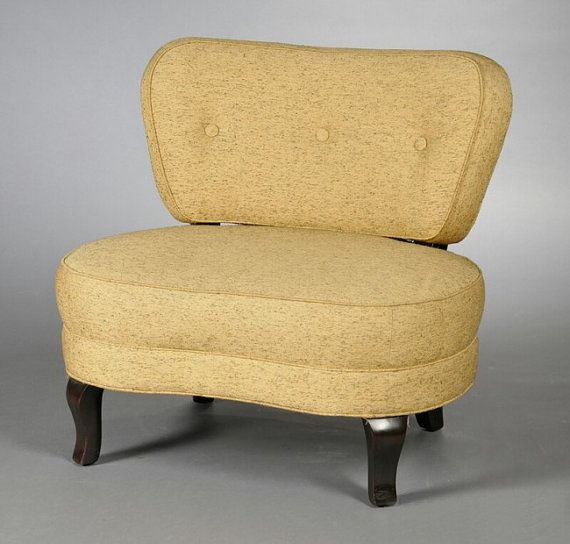 Oversized Mid Century Modern Chair by Edward by ThirteenPieces, $2500.00