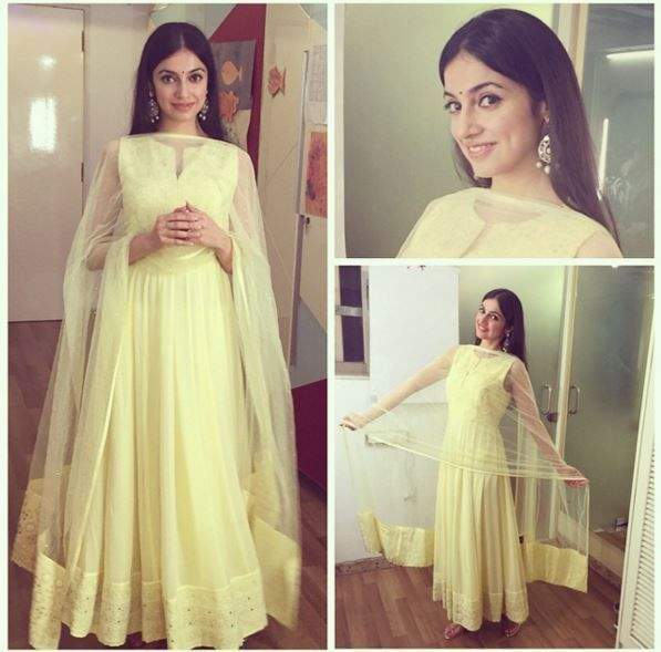 Best Dressed Celebrities of 2015 - Divya Khosla Kumar in Neha Chopra Suit