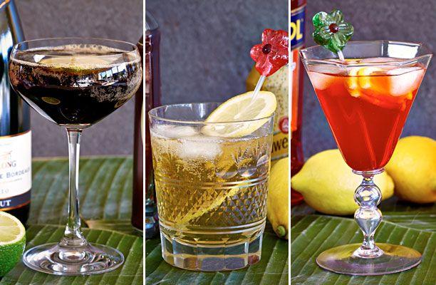 Nytårsaften står den på en skøn nytårsmenu, fest og farver – og selvfølgelig også farverige nytårsdrinks. Disse drinks er ikke for børn! Få opskrifterne her!