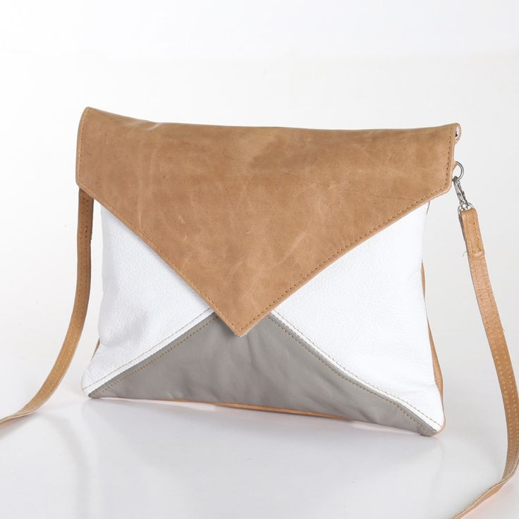 Envelope Bag – Genuine Leather, handmade in South Africa