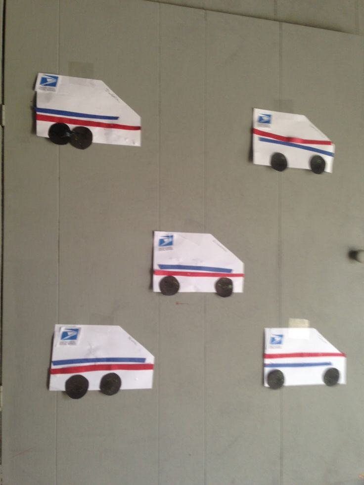Community Helpers - Mail man