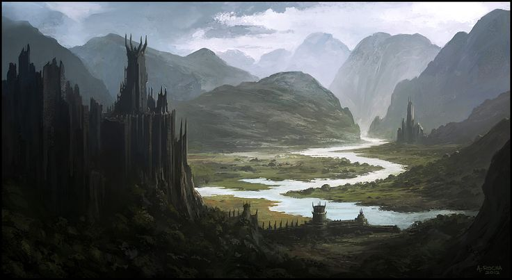 Andreas Rocha    Dark Days To Come  Image inspired by the work of masters Khang Le and Maciej Kuciara, two artists I greatly admire...