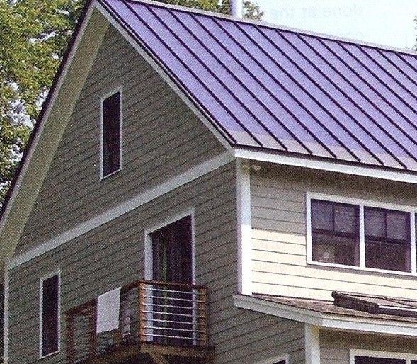 74 best metal roofs images on pinterest metal roof for Best roof color