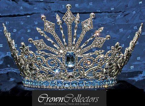 Rhinestone Queen Tsarina Alexandra Fedorovna Romanov crown.