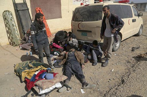 """MOSUL, Iraq/February 26, 2017 (AP)(STL.News) — """"We have wounded!"""" the men shouted from the roadside. Two soldiers, bleeding, were being bandaged beside their smoking vehicle on the side of a dusty dirt road.    Iraqi special forces Maj. Saif Ali ye..."""