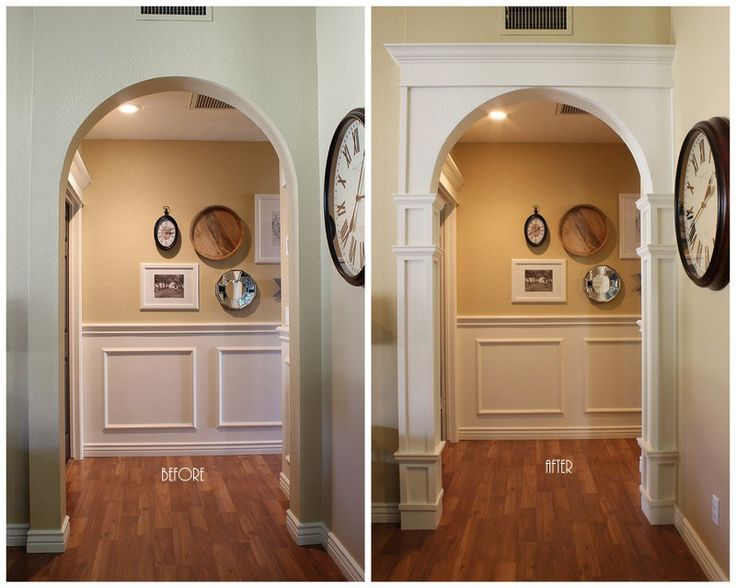 DIY Decorative Arch Moulding. -The House on Stanford