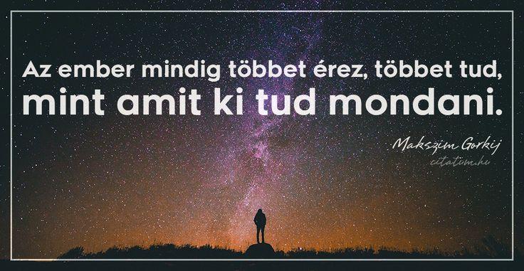 Makszim Gorkij #idézet