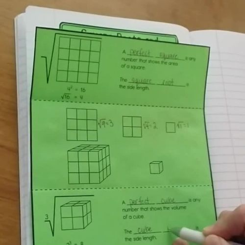 3.1 Square Roots and Cube Roots - TeacherTube