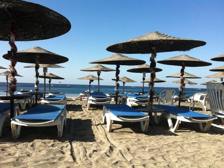 Playa de Fañabe in Costa Adeje, Canarias