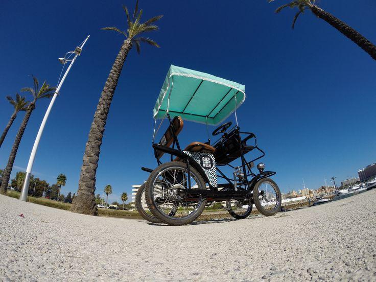 Taxi Bike!   #bikeawish #bikerental #vilamoura #lisboa  www.bikeawish.com