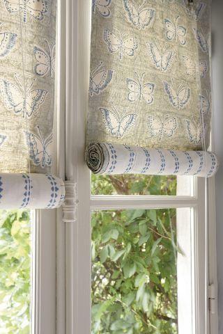 Les 25 meilleures id es de la cat gorie rideaux du bow for Habillage fenetre baie window