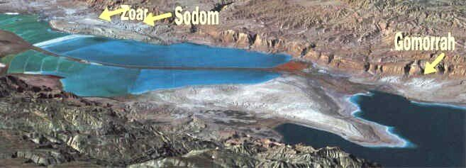 Sodom and Gomorrah were destroyed by a rain of fire and sulfur because the inhabitants did gross sin, i.e homosexuality