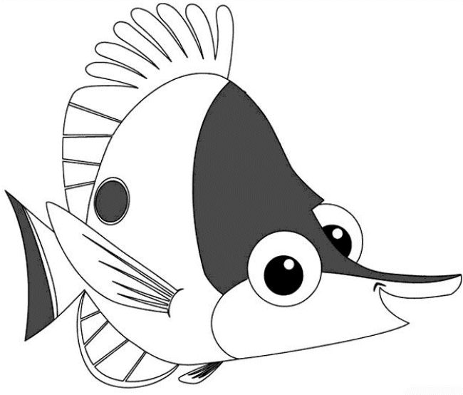 Download Finding Nemo Coloring Pages