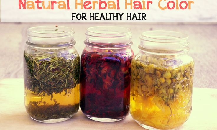 Natural Herbal Hair Color for Healthy Hair - Hippy Natural Hair Care Series Part 4 - The Hippy Homemaker